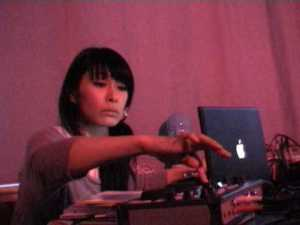 kyoka as guest DJ at Ableton Workshop on 19.Jun.2009 -scene 2-